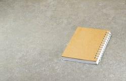 Papel do caderno Fotos de Stock