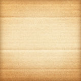 Papel do cartão ondulado de Brown imagem de stock