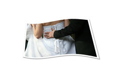 Papel do casamento Foto de Stock