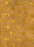 Papel do elefante de India Fotos de Stock Royalty Free