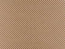 Papel do ofício de Brown com listras pretas diagonais foto de stock royalty free