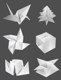 Papel do origâmi Imagens de Stock