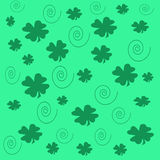 Papel do partido do Shamrock Fotos de Stock