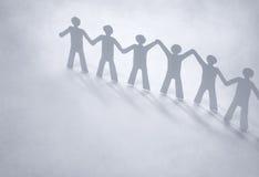 Papel do ser humano da liderança Imagens de Stock