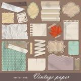 Papel do vintage Imagem de Stock Royalty Free