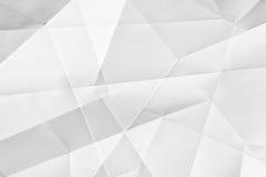 Papel doblado blanco Imagen de archivo libre de regalías