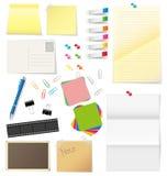 Papel e materiais de escritório Fotos de Stock