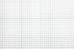 Papel elevado da escala da grade do gráfico da ampliação. fotografia de stock