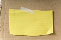 Papel em branco fotografia de stock