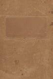 Papel en blanco de Grunge con el marco Imágenes de archivo libres de regalías