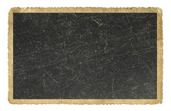 Papel en blanco de la foto de la vendimia aislado Imagenes de archivo
