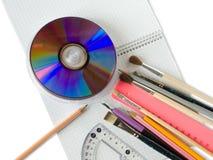 Papel en copy-book Fotografía de archivo