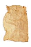 Papel en folio arrugado imágenes de archivo libres de regalías
