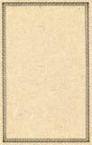 Papel enmarcado adornado Imagen de archivo