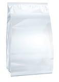 Papel fechado branco da troca conservada em estoque de alimento Fotos de Stock Royalty Free