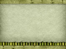 Papel feito a mão ou folha da lona Imagem de Stock