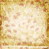 Papel floral de Grunge Imagenes de archivo