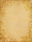 Papel floral de Grunge Fotografía de archivo libre de regalías