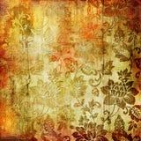 Papel floral de la vendimia Fotografía de archivo libre de regalías