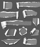 Papel gris Foto de archivo