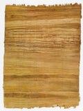 Papel hecho a mano para el fondo histórico del documento Fotografía de archivo libre de regalías