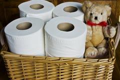 Papel higiénico fotos de stock royalty free