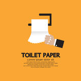 Papel higiénico. Foto de archivo libre de regalías