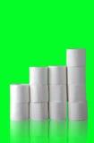Papel higiénico Foto de archivo libre de regalías