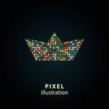 Papel - ilustração do pixel Foto de Stock Royalty Free