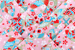 Papel japonês do origâmi Foto de Stock