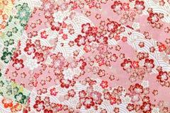Papel japonês do origâmi do teste padrão Foto de Stock Royalty Free