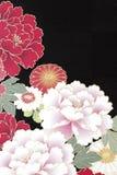 Papel japonês tradicional do origâmi do teste padrão foto de stock royalty free