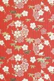 Papel japonês tradicional do origâmi do teste padrão fotografia de stock royalty free
