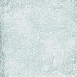 Papel lamentable de la flor de la vendimia Imagenes de archivo