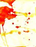 Papel manchado rojo del color de Splotchy Imagen de archivo libre de regalías