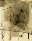 Papel manchado VIII Imagen de archivo libre de regalías