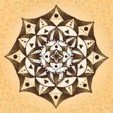papel Mandala-velho Fotografia de Stock
