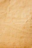 Papel marrom velho da cor Fotografia de Stock