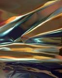Papel metálico abstracto Foto de archivo libre de regalías