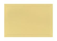 Papel metálico la tarjeta Foto de archivo libre de regalías