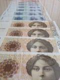 Papel moeda Fotografia de Stock Royalty Free