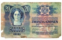 Papel moeda histórico Foto de Stock Royalty Free