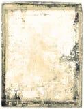 Papel mohoso, disintergrating Imágenes de archivo libres de regalías