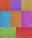 Papel multicolor Imagen de archivo libre de regalías