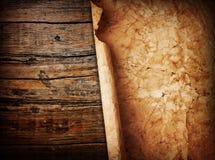 Papel na madeira Fotos de Stock
