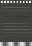 Papel negro Imagen de archivo