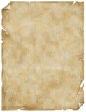 Papel o perchment viejo Fotografía de archivo libre de regalías