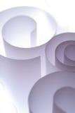 Papel ondulado Imagens de Stock