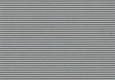 Papel ondulado cinzento - alta resolução Fotografia de Stock Royalty Free