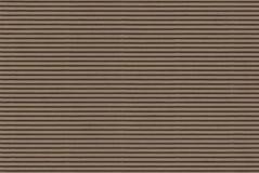 Papel ondulado de Brown - alta resolução Fotos de Stock